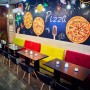 Fototapet - model cu pizza