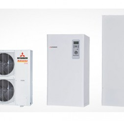 Pompe de caldura aer-apa cu utilizare rezidentiala si comerciala MITSUBISHI HEAVY INDUSTRIES