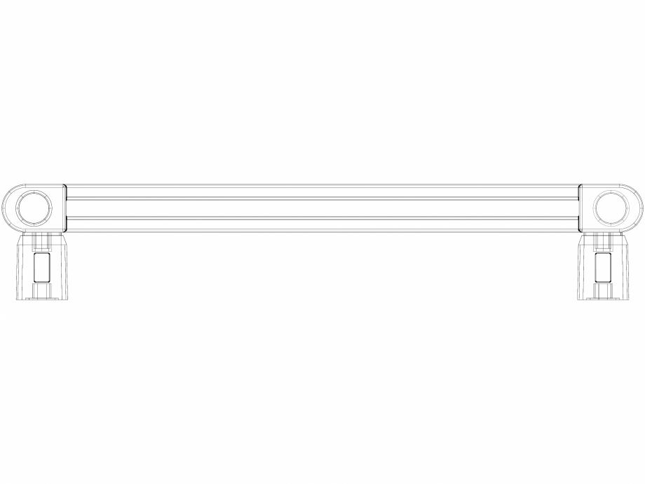 Pagina 1 - CAD-DWG Calorifer baie WGVPA075040-SX-MK(Z) v1.0 VON LORCH Detaliu de produs Vipera