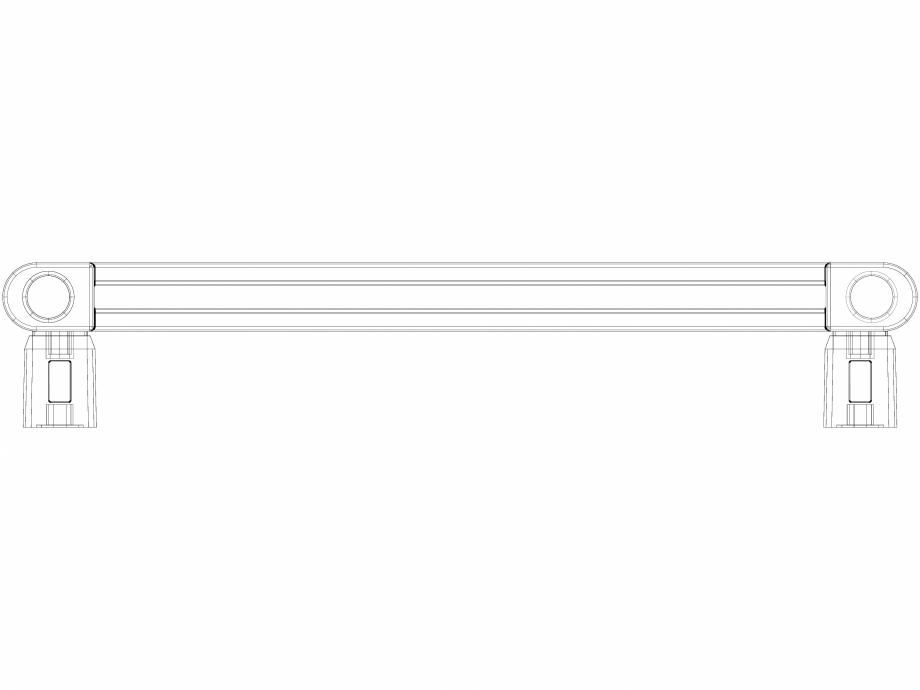 Pagina 1 - CAD-DWG Calorifer baie WGVPA147040-SX-MK(Z) v1.0 VON LORCH Detaliu de produs Vipera