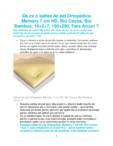 Saltea de pat ortopedica Memory 7 cm HD, Bio Cocos, Bio Bambus, 14+2+7, 190×200, Ortopedicus -