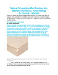 Saltea ortopedica Bio Bumbac Air, Memory HD Royal, Hotel Range 5+12+5+4, 190×200 Ortopedicus -