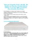 Saltea pat ortopedica Pocket, 160×200 Bio Bambus Air Ortopedicus - Pocket, Bio Bambus Air