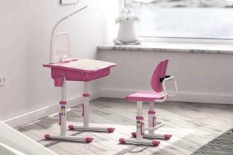 Seturi de scaune si birouri ergonomice pentru copii si adolescenti ERGOK