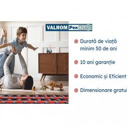 Sisteme de încălzire prin pardoseală pentru locuințe, clădiri publice și industriale VALROM