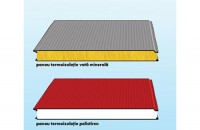 Panouri termoizolante pentru pereti COILPROFIL
