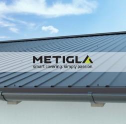 Tabla cutata pentru acoperis METIGLA