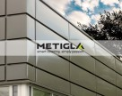 Casete metalice pentru fatade METIGLA