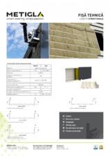 Fisa tehnica - Casete structurale pentru izolatia peretilor - METIGLA