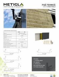 Fisa tehnica - Casete structurale pentru izolatia peretilor -