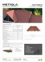 Detalii tehnice - Tigla metalica
