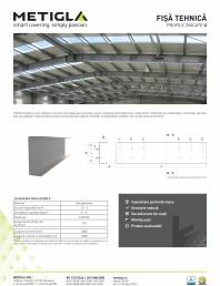 Fisa tehnica - Profile zincate tip U -
