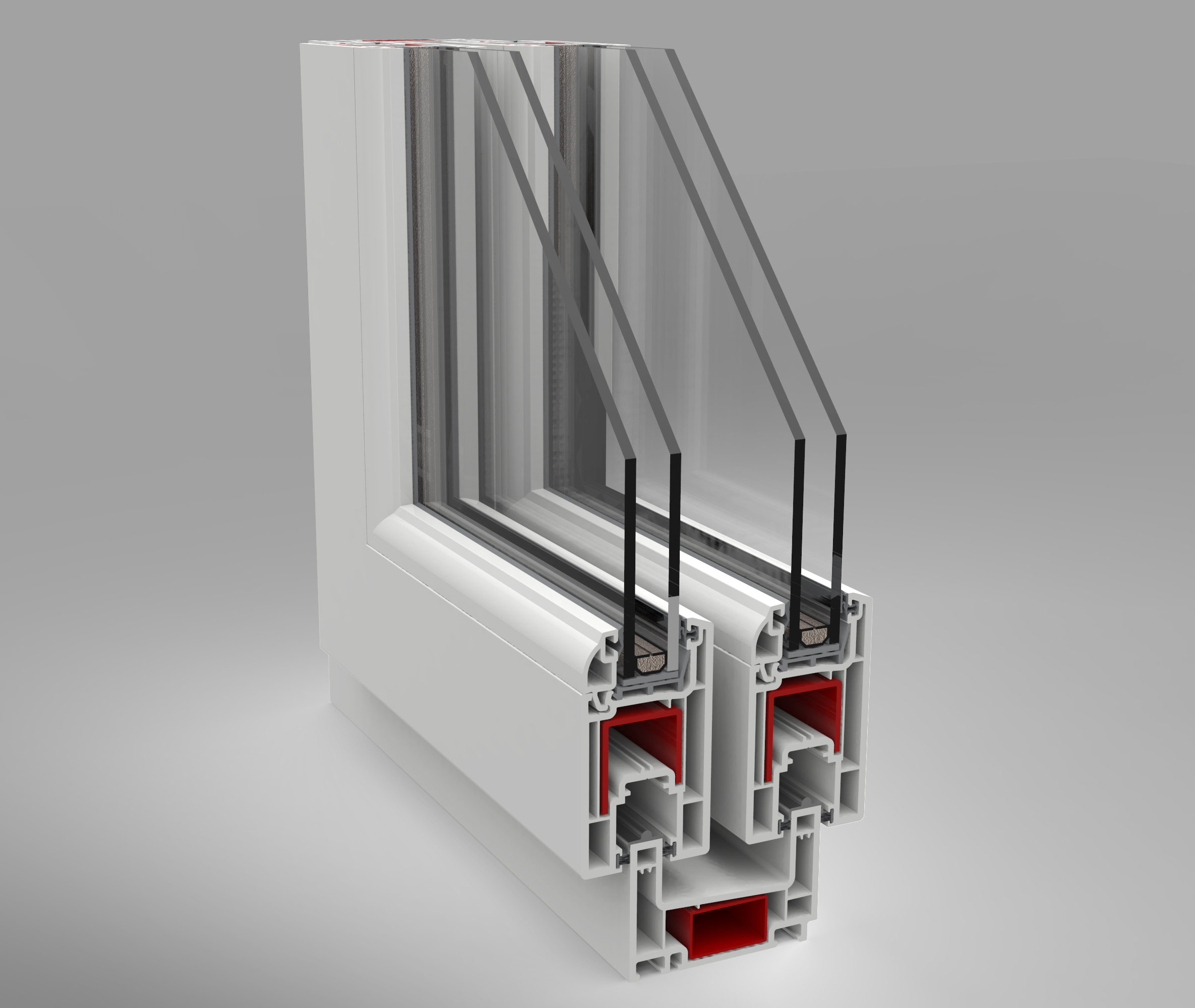 prezentare produs sectiune usa glisanta deceuninck poza 1. Black Bedroom Furniture Sets. Home Design Ideas