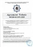 Agrement Tehnic nr 001SB-04 1493-2020 PAB avizat favorabil in 24 03 2020 MONSENA - ALUBOND EUROCLASS