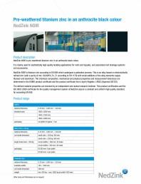 Caracteristici tehnice - NOIR