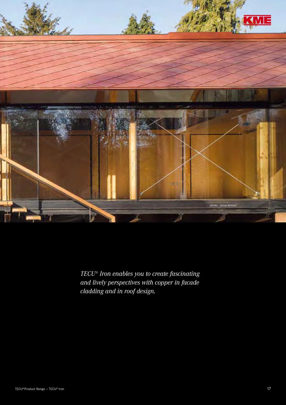Catalog, brosura Produse TECU 2018 TECU MONSENA Acoperișuri fălțuite MONSENA � Installation  TECU® Slot-In Panels System  TECU® Cassettes  TECU® Panels are two-sided... - Pagina 19