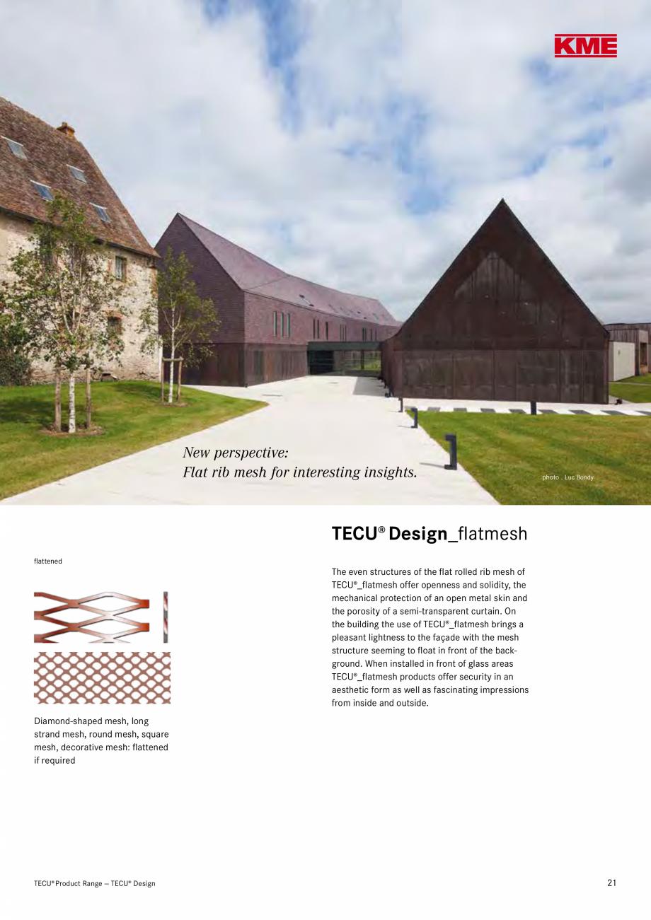 Catalog, brosura Produse TECU 2018 TECU MONSENA Acoperișuri fălțuite MONSENA Rhomboids  Format (mm)  600 x 430  430 x 430  600 x 600  518 x 830  518 x 758  Delivery Form ... - Pagina 23