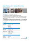 Caracteristici tehnice -  tabla pentru acoperisuri NATUREL MONSENA - NedZink