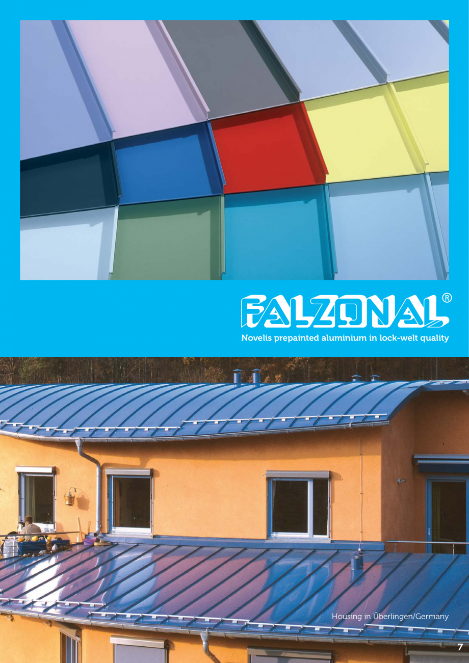 Catalog, brosura Produse FALZONAL Falzonal MONSENA Acoperișuri fălțuite MONSENA re of permanent waterproofing and protection for roofs and facades.  12  Privatehouse,... - Pagina 7