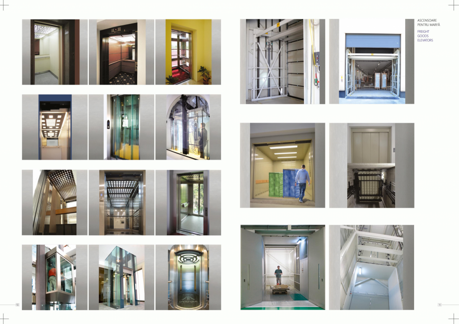 Pagina 6 - Constructorii de ascensoare ELMAS Catalog, brosura Engleza, Romana