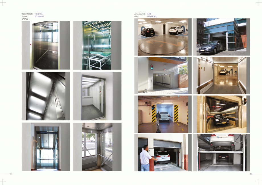 Pagina 7 - Constructorii de ascensoare ELMAS Catalog, brosura Engleza, Romana