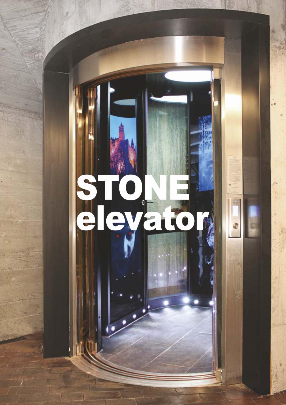 Pagina 2 - Constructorii de ascensoare - Locul 1 in lume ELMAS Catalog, brosura Engleza, Romana