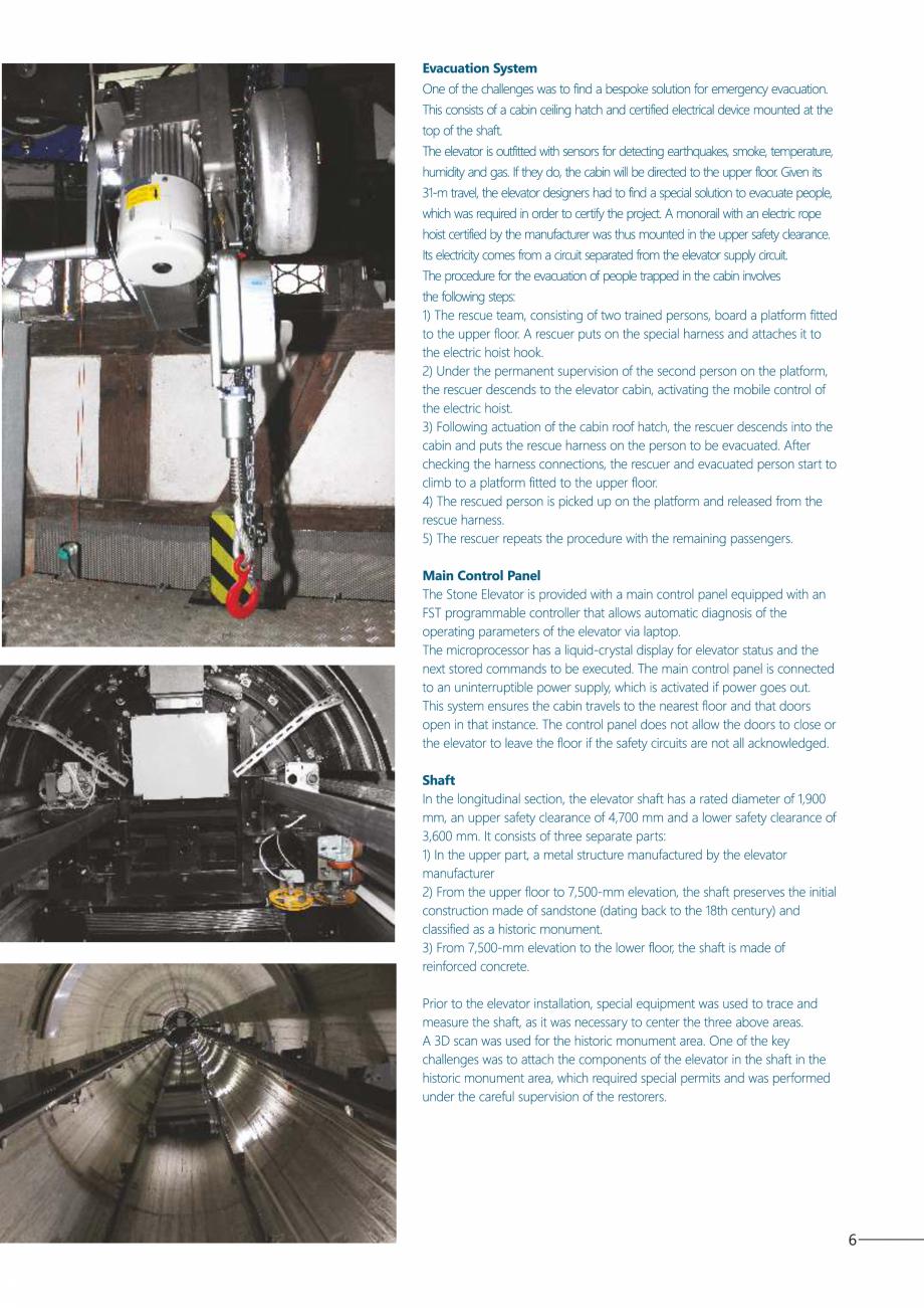 Pagina 7 - Constructorii de ascensoare - Locul 1 in lume ELMAS Catalog, brosura Engleza, Romana