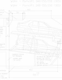 Sistem mecanic de parcare auto 155/150 (305)