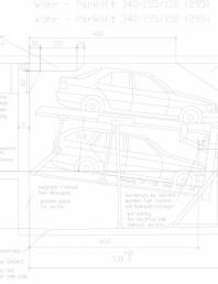 Sistem mecanic de parcare auto 155/150 (295)