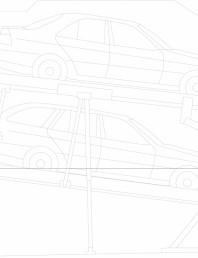 Sistem mecanic de parcare auto 155/150 (305) - planificare