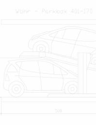 Sistem mecanic de parcare auto 170 (315)