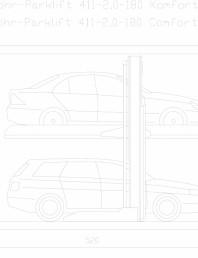 Sistem mecanic de parcare 2,0-180 Comfort