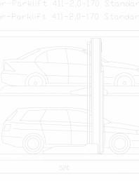 Sistem mecanic de parcare 2,0-170 Standard