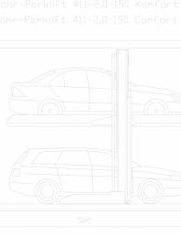 Sistem mecanic de parcare 2,0-190 Comfort