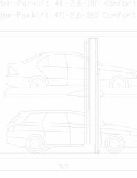 Sistem mecanic de parcare 2,6-180 Comfort