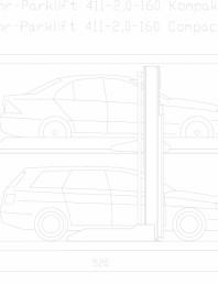 Sistem mecanic de parcare 2,6-160 Compact