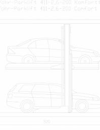 Sistem mecanic de parcare 2,6-200 Comfort