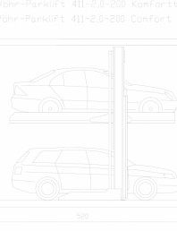 Sistem mecanic de parcare 2,0-200 Comfort