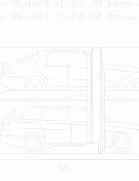 Sistem mecanic de parcare 2,0-150 Compact