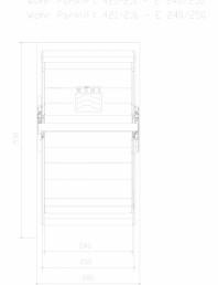 Sistem mecanic de parcare auto 2,0/2,6 - E 240/250