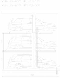 Sistem mecanic de parcare auto 2,0/2,6 - 530