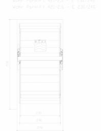 Sistem mecanic de parcare auto 2,0/2,6 - E 230/240