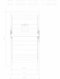Sistem mecanic de parcare auto 2,0/2,6 - E 250/260