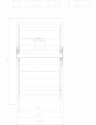 Sistem mecanic de parcare auto 2,0/2,6 - E 260/270