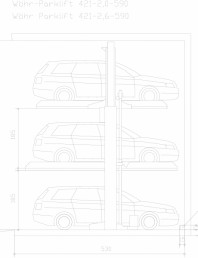 Sistem mecanic de parcare auto 2,0/2,6 - 590