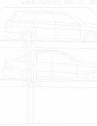 Sistem mecanic de parcare auto 170 (320)