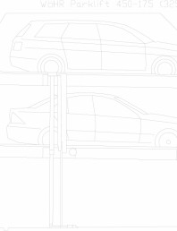 Sistem mecanic de parcare auto 175 (325)