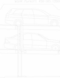 Sistem mecanic de parcare auto 185 (350)
