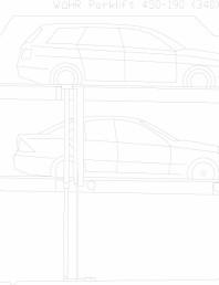 Sistem mecanic de parcare auto 190 (340)