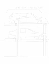 Sistem mecanic de parcare auto 190 (360)